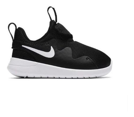 Tenis Nike Tessen (td) Negro/blanco, Tallas 15 Y 16