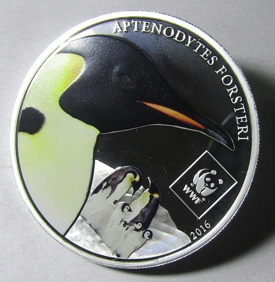 Moneda Tanzania 2016 Pinguino Aptenodytes 100 Shillings Prf