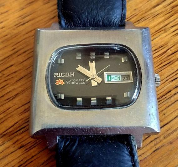 Relógio Ricoh 21 Jewels - Automático - Antigo De Coleção
