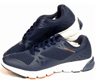 Zapatillas Running Montagne Accelerate Azul Hombre