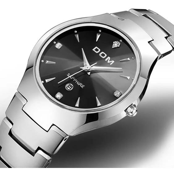 Relógio Masculino Dom Marca Esporte Quente Luxo Tungs