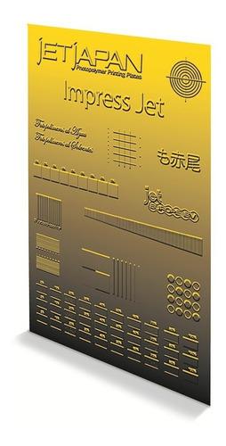 Fotopolímero Base Metal En Planchas, Jet Japan Lsl-145-sm