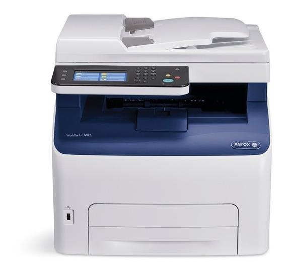 Impresora Láser Multifuncional Xerox Workcentre 6027