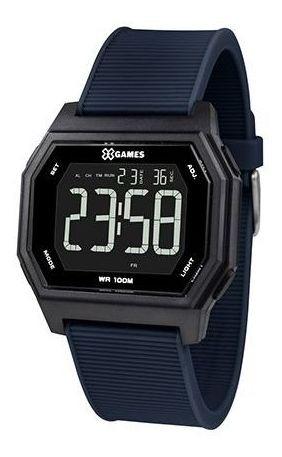Relógio X-games Xgppd114 Pxdx Masculino Azul