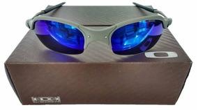 2cb5772b6 Lente Juliet Azul Barata De Sol Oakley - Óculos no Mercado Livre Brasil