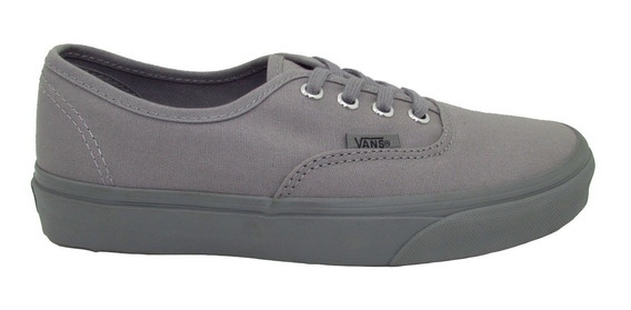 Tenis Vans Authentic Vn0a38emmq8 Primary Mono Frost Grey Uni