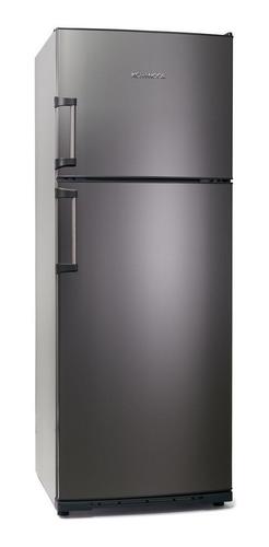 Imagen 1 de 4 de Heladera Koh-i-noor KHD43/7 acero con freezer 413L 220V