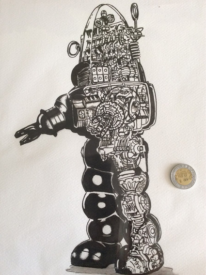 Dibujo Robot Robby