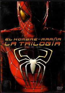 El Hombre Araña - La Trilogía ( Marvel ) 3 Dvd Originales