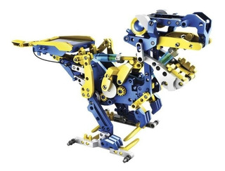 Kit Robot Solar Hidráulico 12 En 1 Para Armar Steren K-725