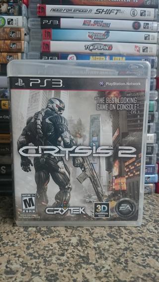 Crysis 2 Ps3 Midia Fisica-frete R$10