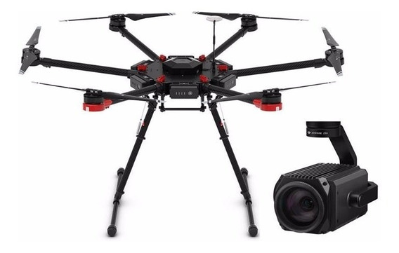 Drone Dji Matrice 600 + Dji Z30 Com Zoom Óptico De 30x