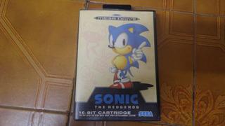 Sonic Original Europeo Para Sega Megadrive Genesis Kuy