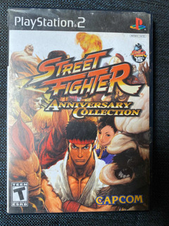Street Fighter Anniversary Collection Ps2 Playstation 2