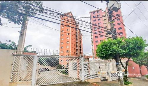 Apartamento Com 2 Dormitórios À Venda, 65 M² Por R$ 265.000 - Vila Damásio - São Bernardo Do Campo/sp - Ap0707