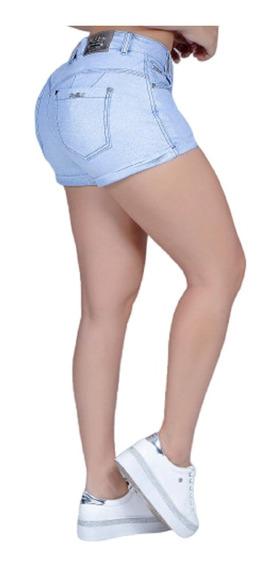 Lindo Short Jeans Com Glitter Pit Bull Original