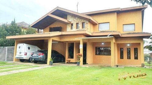 Imagem 1 de 30 de Casa Com 4 Dormitórios À Venda, 425 M² Por - Parque Mirante Do Vale - Jacareí/sp - Ca2019