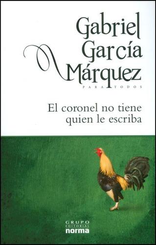 El Coronel No Tiene Quien Le Escriba. Para Todos | Mercado Libre