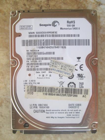 Hd 500 Gb Notebook Seagate