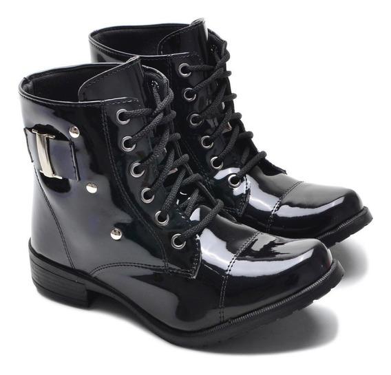 Coturno Bota Sapato Botinha Feminina Confort Promoçãp Top