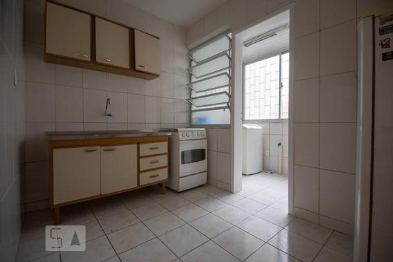 Apartamento No 1º Andar Com 2 Dormitórios E 1 Garagem - Id: 892987578 - 287578