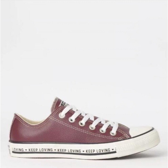 Tênis Converse Chuck Taylor All Star Ox Couro Ct12090002