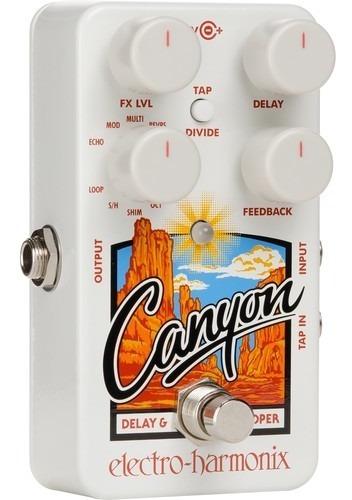 Pedal Ehx Canyon Delay And Looper Electro Harmonix