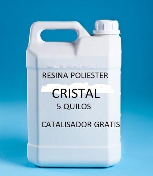 Resina Poliester Cristal 5 Kg