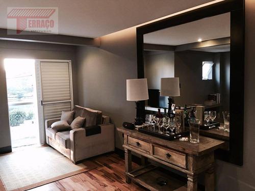 Sobrado Com 2 Dormitórios À Venda, 100 M² Por R$ 450.000,00 - Vila Eldízia - Santo André/sp - So0862