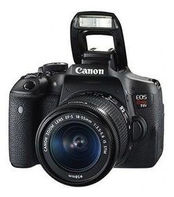 Câmera Canon T6i 18-55mm Is Stm Garantia Nova Posto Hoje