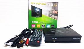 Conversor Digital Full Hd E Gravador Com Usb Youtube Wifi