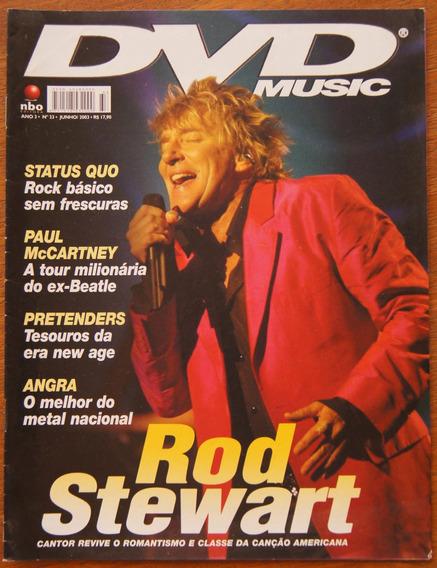 Revista Dvd Music Nº 33 Rod Stewart Paul Mccartney