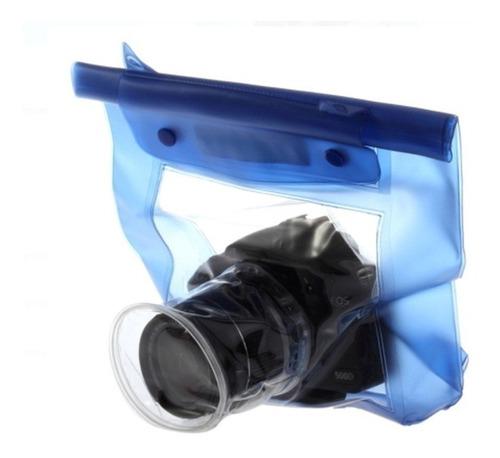 Imagen 1 de 3 de Funda Sumergible Para Camaras Digitales Reflex Impermeable