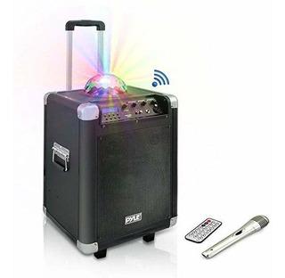 Pyle Portable Karaoke Pa Parlante Disco Jam Sistema Machin ®