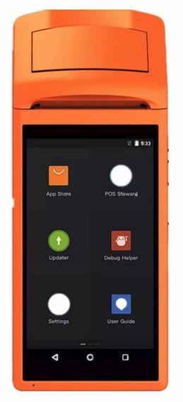 5 Impressoras Terminais Pda Pos Sunmi V1s Wifi Android