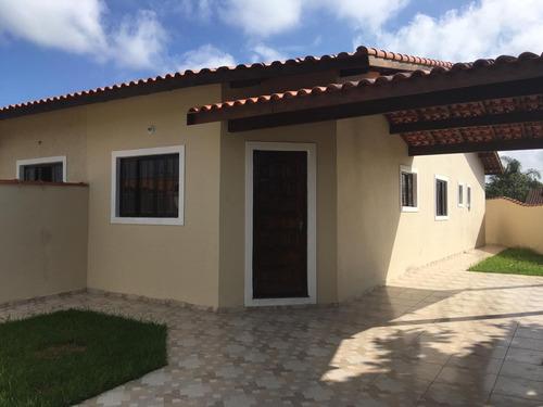 Imagem 1 de 11 de Belíssima Casa No Jardim Regina - Itanhaém 5170 | Sanm