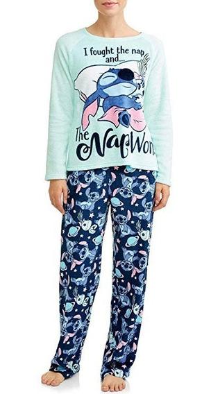 Pijama Importada Para Mujer De Disney Stitch Talla Xl