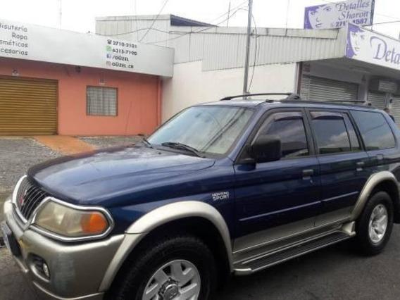 Mitsubishi Montero 2000 Azul 4 Puertas