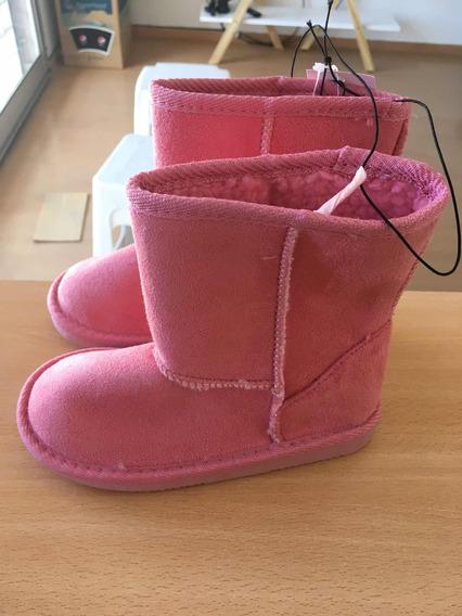 Zapatillas Botitas De Niña Talle 28 O 18cm
