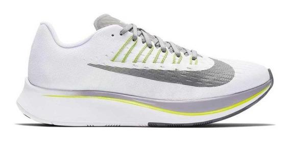 Tenis Nike Zoom Fly Branco Masculino Corrida Maratona