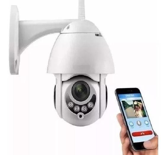 Câmera Ip Wifi Rotativa Externa Dome Prova De Água Hd Icsee