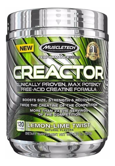 Creatina Muscletech Creactor 203 Gr