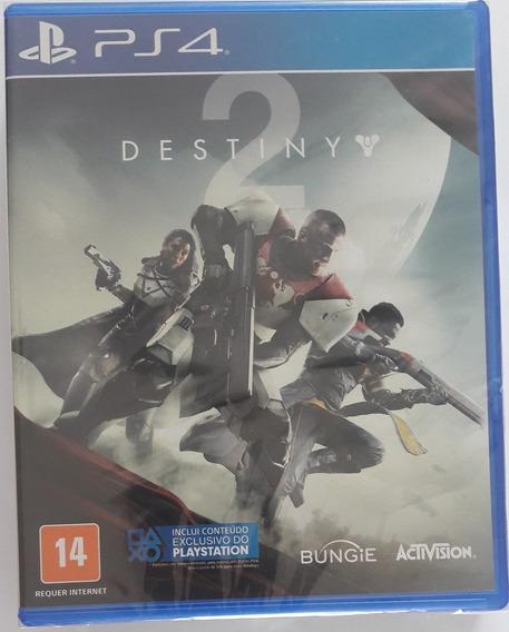 Destiny 2 Ps4, Original, Novo, Lacrado, Mídia Física.