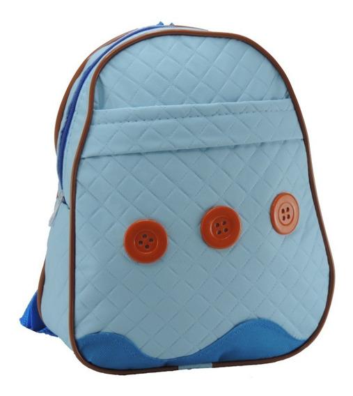 Mochila Bolsa Infantil Masculino Azul Menino Dia-a-dia