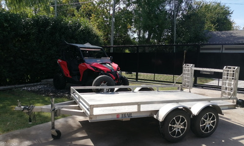 Utv Can-am Maverick 1000 Con Trailer D-trail Y Accesorios