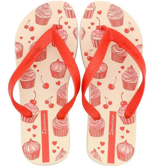 Chinelo Ipanema Next Cupcake Feminino