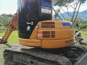 Retroexcavadora Komatsu Pc 75 Uu _2