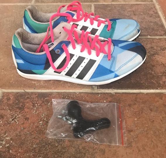 Zapatillas Spikes Clavos adidas Poco Uso - Atletismo - 36