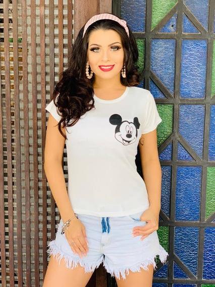 Kit 10 T-shirt Blusas Feminina Roupas Atacado Revenda