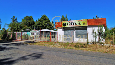 Se Vende Parcela Con Local Comercial
